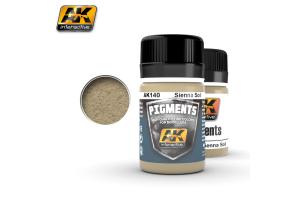 Sienna Soil Pigment - AK140