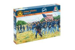 UNION INFANTRY (AMERICAN CIVIL WAR) (1:72) - 6177