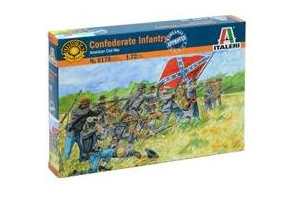 CONFEDERATE INFANTRY (AMERICAN CIVIL WAR) (1:72) - 6178