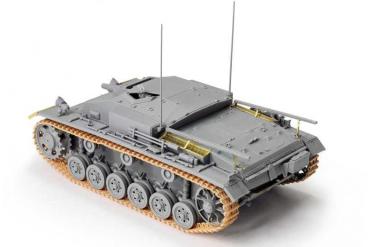 Model Kit military 6688 - STUG.III AUSF.E (1:35)
