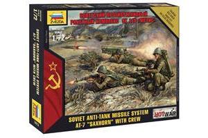 "Wargames (HW) figurky 7413 - Soviet Anti-Tank Missile System AT-7 ""Saxhorn"" (1:72)"