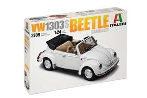 Model Kit auto 3709 - VW1303S Beetle Cabriolet (1:24)