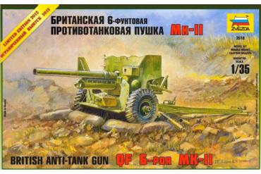 British Anti-Tank Gun QF 6-PDR MK-II (1:35) - 3518