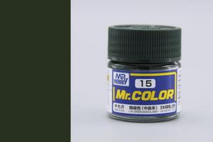 Mr. Color - C015: IJN zelená (Nakajima) pololesklá