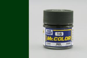 Mr. Color - C016: IJA zelená pololesklá