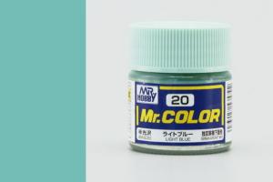 Mr. Color - C020: Světle modrá pololesklá