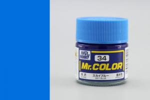Mr. Color - C034: Nebeská modrá lesklá