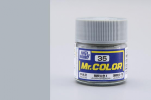 Mr. Color - C035: IJN šedá (Mitsubishi) pololesklá