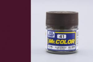Mr. Color - C041: Červeno hnědá matná