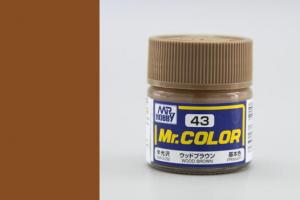 Mr. Color - C043: Barva dřeva pololesklá