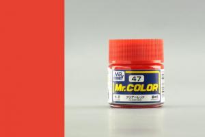 Mr. Color - C047: Transparentní červená