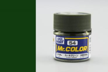 Mr. Color - C054: Khaki zelená