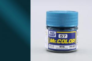 Mr. Color - C057: Kovově modrozelená metalická