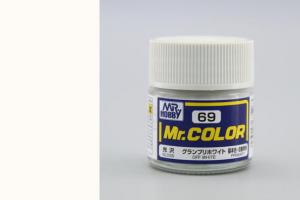 Mr. Color - C069: Bílá základní lesklá