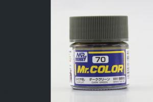 Mr. Color - C070: Tmavě zelená matná