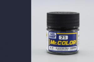 Mr. Color - C071: Půlnoční modrá lesklá