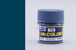 Mr. Color - C072: Přechodová modrá pololesklá