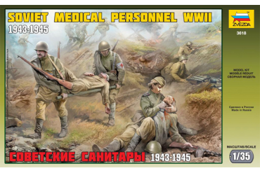 Soviet Medical Personnel WWII (1:35) - 3618