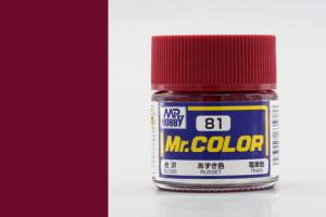 Mr. Color - C081: Červenohnědá lesklá