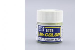 Mr. Color - C156: Super bílá IV lesklá