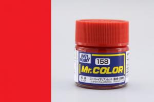Mr. Color - C158: Super italská červená lesklá