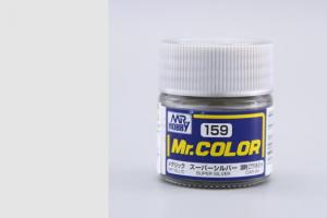 Mr. Color - C159: Super stříbrná metalická