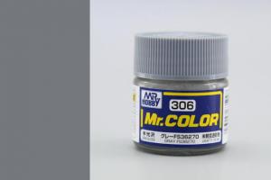 Mr. Color - C306: FS36270 šedá pololesklá