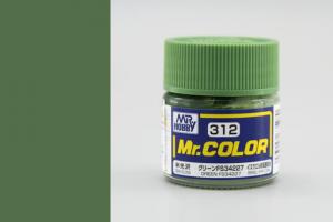 Mr. Color - C312: FS34227 zelená pololesklá