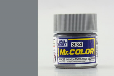 Mr. Color - C334: Slámově šedá BS4800/18B21 pololesklá