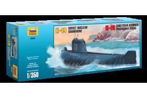 """K-19 Soviet Nuclear Submarine """"Hotel"""" Class (1:350) - 9025"""