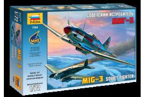 MIG-3 Soviet Fighter (1:72) - 7204
