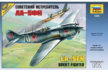 Lavotchkin LA-5 FN Soviet Fighter (1:72) - 7203
