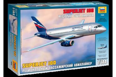 Sukhoi Superjet 100 (1:144) - 7009