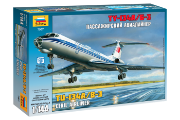 Tupolev Tu-134B (1:144) - 7007