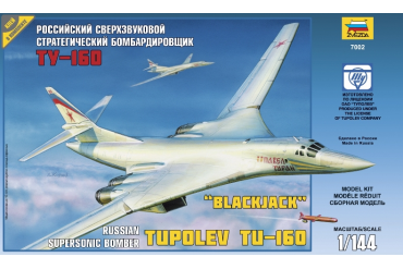Tupolev TU-160 Russian Strategic Bomber (1:144) - 7002