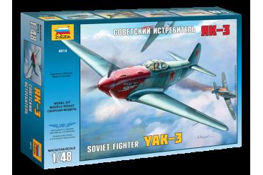 YAK-3 Soviet WWII Fighter (1:48) - 4814