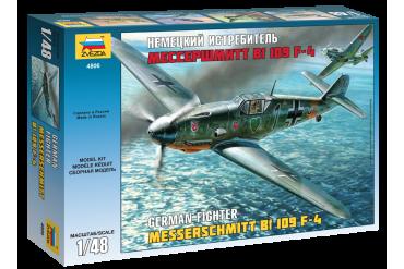 Messerschmitt Bf-109 F4 (1:48) - 4806