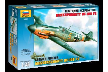 Bf-109 F2 (1:48) - 4802