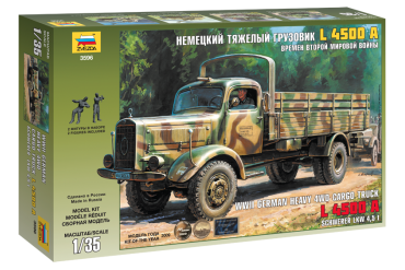 German Heavy Truck L4500A (1:35) - 3596