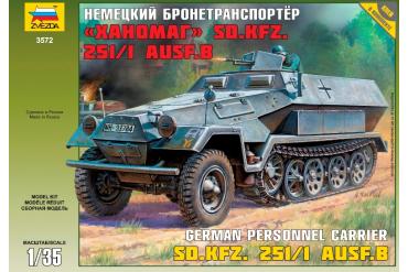 Hanomag Sd.Kfz.251/1 Ausf.B (1:35) - 3572