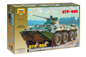 BTR-80A Russian Personnel Carrier (1:35) - 3560