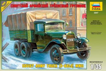 GAZ-AAA Soviet Truck (3-axle) (1:35) - 3547