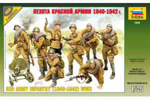Red Army Infantry (1940-42) (1:35) - 3526