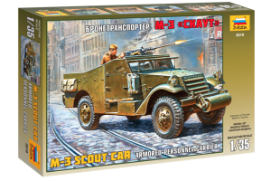 M-3 Armored Scout Car (1:35) - 3519