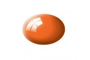 30: leská oranžová (orange gloss) - Aqua
