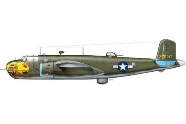 Model Kit letadlo 1309 - B-25G MITCHELL (1:72)