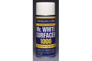 Mr. White Surfacer 1000 - stříkací tmel bílý 170 ml - B511