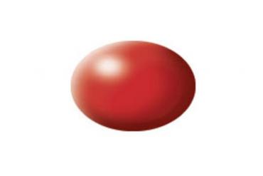 36330: hedvábná ohnivě rudá (fiery red silk) - Aqua