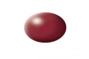 331: hedvábná nachově červená  (purple red silk) - Aqua