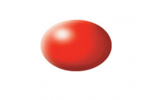332: hedvábná světle červená (luminous red silk) - Aqua